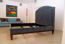 diamond tufted headboard classic design velvet diamond tufted bed
