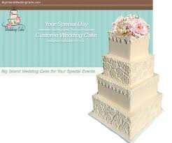 big island wedding cake custom wedding cakes kona waimea kohala