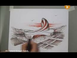 very talent hand sketch architecture design ideas 04 youtube