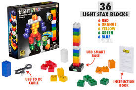 light stax power base light stax building blocks that light up