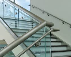 handrails in various materials for different types of staircase