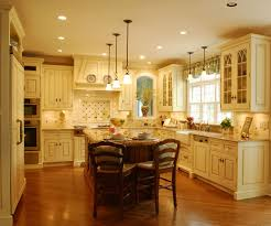 cream colored kitchen cabinets kitchen traditional with painted