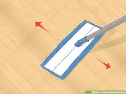 3 ways to clean parquet floors wikihow