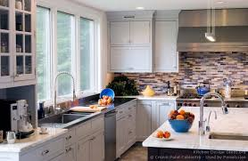 transitional kitchen ideas transitional kitchen design with pale blue shaker style cabinets