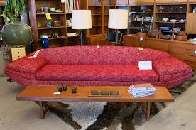 Modern Furniture San Jose by Vintage Flexsteel Sofa Sold Midcenturysanjose