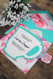 bridal shower tea party invitations diy tea party invitations linksof london us