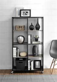 Room Divider With Shelves Ameriwood Furniture Altra Furniture Mobile Bookcase Room