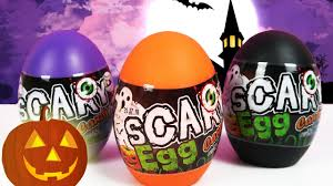 halloween surprise eggs toy candy for kids trick or treat