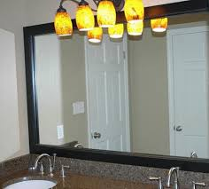 Bathroom Mirror Frame Ideas Bathroom Mirror Frame News And Ideas