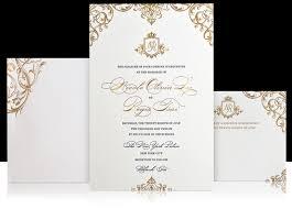wedding invitations luxury custom gold luxury wedding invitation reichpaper we are reich