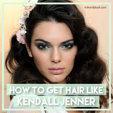 jenner hair extensions how to get kendall jenner s hair using hair extensions hair