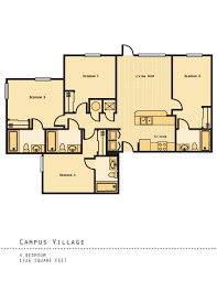 1 5 bed apartments campus village college station