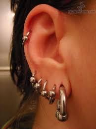 ear piercing hoop hoop rings ear piercing