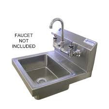 Sink Bowl Griffin Products H60 Series Wall Mount Stainless Steel 14 In 2
