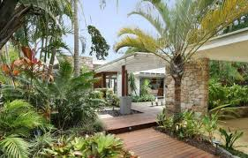 Tropical Backyard Ideas Collection In Tropical Backyard Ideas Outdoor Tropical Garden With