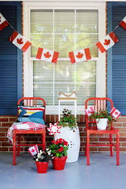 White Christmas Decorations Canada by A Canada Day Porch Rambling Renovators