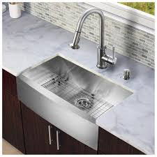 Stainless Steel Kitchen Faucets Reviews by Kitchen Mosaic Tile Backsplash Design Ideas With Farm Sinks For