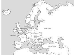 map of euroup europe maps 1914