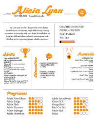 Show Examples Of Resumes by 25 Examples Of Creative Graphic Design Resumes Inspirationfeed