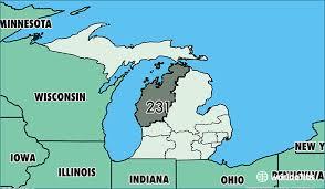 michigan area code map where is area code 231 map of area code 231 muskegon mi area code
