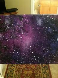 halloween canvas paintings what colors to use for a blended black background look galaxy drawing u2026 pinteres u2026