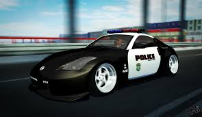 nissan 350z skin from polis 350z stance police by danilka45 on deviantart
