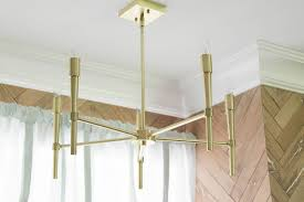 Family Room Light Fixture by One Room Challenge Week 4 Vintage Summer Family Room The Leslie