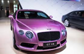 purple bentley mulsanne a purple bentley car editorial photography image of fashion 41412567
