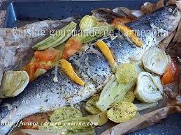 cuisiner un saumon entier recette de saumon entier cuit en papillote