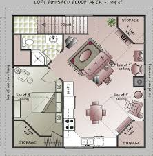 barn floor plans with loft plan 3849ja garage with a fabulous guest apartment above garage