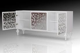 modern glass buffet cabinet buffet cabinets ch sofia glass legs buffet modern white lacquer