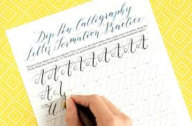 modern calligraphy 5 tips to improve your writing slant the