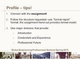 of mechanical engineering global engineering professional