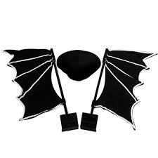 black bat halloween car costume the green head