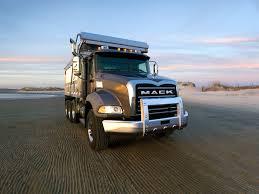 mack dump truck 2002 mack granite 6x4 dump truck semi tractor construction