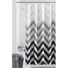 Gray Fabric Shower Curtain Mainstays Flux Fabric Shower Curtain Walmart Com