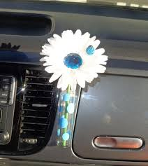 Vw Beetle Vase Accessories Daisies With Bling Center U2013 Bling My Bug