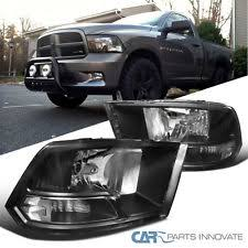 dodge ram black dodge ram oem headlights ebay