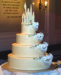 cinderella castle cake topper wedding castle cake on wedding cakes with cake wednesday