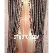 Gray And Pink Curtains Adorable Bright Pink Curtains Decor With Unique Designer Gray