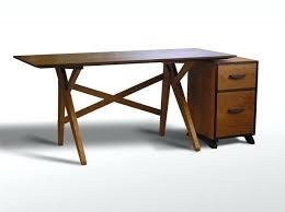 Desk With File Cabinet Desk File Cabinet Interque Co