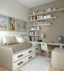small master bedroom ideas wooden platform bed with storage peach