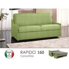 canape lit rapido canapé lit 4 places convertible rapido 160 achat vente