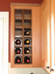 luxury built in wine racks for kitchen cabinets taste