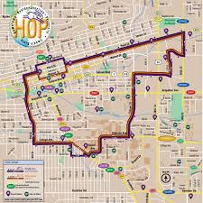 Boulder Colorado Map Hop Transit Study