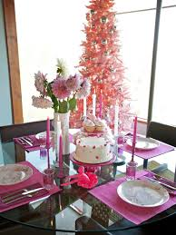 holiday home decorating services photos hgtv cheryl burkes pink holiday table idolza
