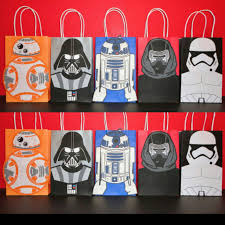 wars party favors wars favor bags wars party wars birthday wars