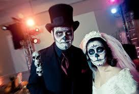 Zombie Bride Groom Halloween Costumes Stories Photos Variety Halloween Weddings Neatorama
