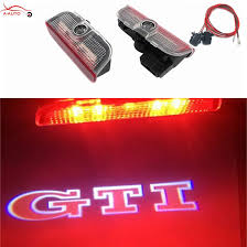vw cc tail light bulb type 2 x car door light courtesy emblem projector logo led for volkswagen