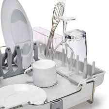 Dishes Rack Drainer Foldaway Dish Rack Oxo
